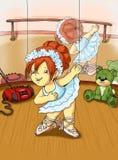 Bambini teneri, il danzatore Immagini Stock Libere da Diritti