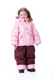 Bambini in vestiti alla moda Fotografie Stock