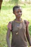 Bambini in villaggio tanzaniano Fotografie Stock Libere da Diritti