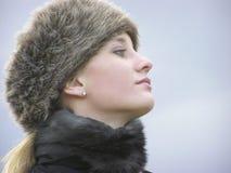 Bambino 02 dell'inverno fotografie stock