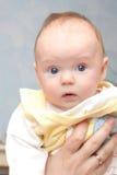 Bambino abbastanza piccolo Fotografie Stock Libere da Diritti