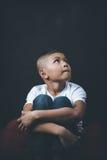 Bambino abusato fotografie stock