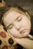 Bambino addormentato Immagini Stock Libere da Diritti