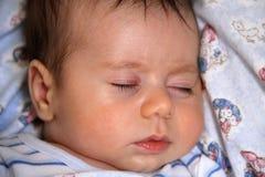 Bambino addormentato Fotografia Stock