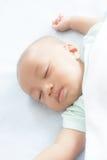 Bambino addormentato Fotografie Stock
