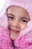 Bambino adorabile che porta il costume del vestito operato Immagini Stock Libere da Diritti