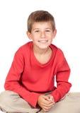 Bambino adorabile con capelli biondi Immagine Stock Libera da Diritti