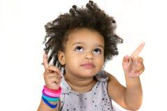 Bambino adorabile con i bei occhi fotografia stock libera da diritti