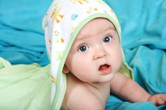Bambino adorabile di Bathtime Immagini Stock Libere da Diritti