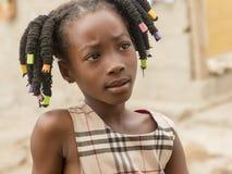 Bambino africano Immagini Stock Libere da Diritti