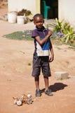 Bambino africano Fotografie Stock