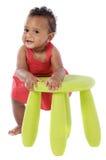 Bambino africano Chubby Immagine Stock
