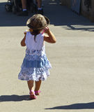 Bambino alla contea di Los Angeles giusta Fotografia Stock