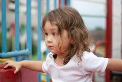 Bambino alla sosta Fotografie Stock Libere da Diritti