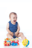 Bambino allegro Fotografie Stock Libere da Diritti