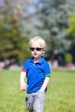 Bambino ambulante Fotografie Stock