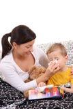 Bambino ammalato Fotografie Stock