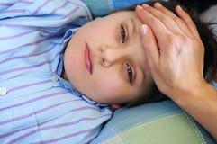 Bambino ammalato Immagine Stock Libera da Diritti