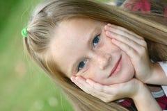 Bambino annoiato Fotografie Stock