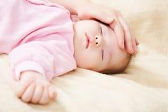 Bambino appena nato Immagini Stock Libere da Diritti