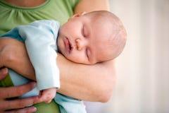 Bambino appena nato Fotografia Stock