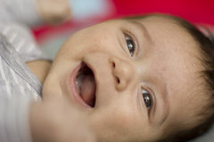 Bambino appena nato Fotografie Stock
