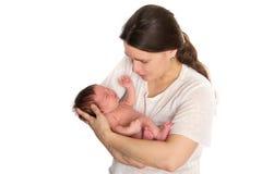 Bambino appena nato Fotografie Stock Libere da Diritti