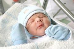 Bambino appena nato. Immagini Stock