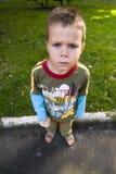 Bambino arrabbiato Immagine Stock Libera da Diritti