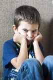 Bambino arrabbiato Fotografia Stock