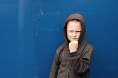 Bambino arrabbiato Fotografie Stock Libere da Diritti