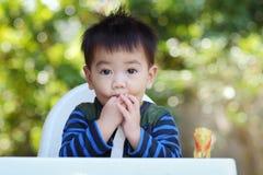Bambino asiatico Fotografie Stock