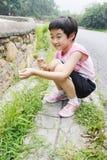 Bambino asiatico Immagini Stock Libere da Diritti
