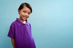 Bambino asiatico sveglio Immagini Stock Libere da Diritti
