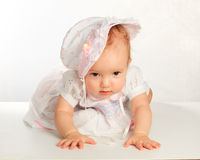 Bambino, bambina Immagini Stock Libere da Diritti