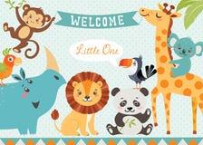 Bambino benvenuto royalty illustrazione gratis
