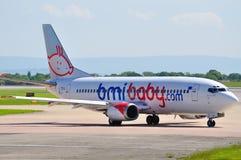 Bambino Boeing 737 di BMI Immagine Stock