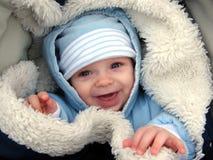 Bambino in carrozzina fotografia stock libera da diritti