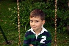 Bambino che ha divertimento Fotografia Stock Libera da Diritti