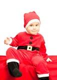 Bambino che porta il vestito della Santa Immagine Stock Libera da Diritti