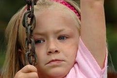 Bambino che si arrampica in su Fotografia Stock Libera da Diritti
