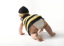 Bambino che striscia via Fotografia Stock