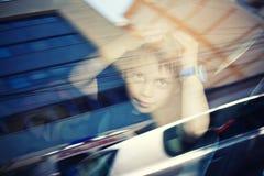 Viaggiando in macchina Fotografia Stock Libera da Diritti