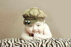 Bambino Chubby Immagini Stock