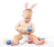 Bambino con Bunny Ears Fotografia Stock Libera da Diritti