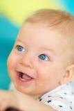 Bambino con gli occhi azzurri Fotografia Stock