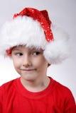 Bambino con il cappello della Santa Fotografia Stock