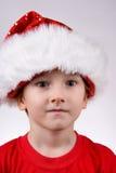 Bambino con il cappello della Santa Immagine Stock