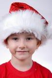 Bambino con il cappello della Santa Immagini Stock Libere da Diritti