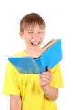 Bambino con il libro Fotografia Stock Libera da Diritti